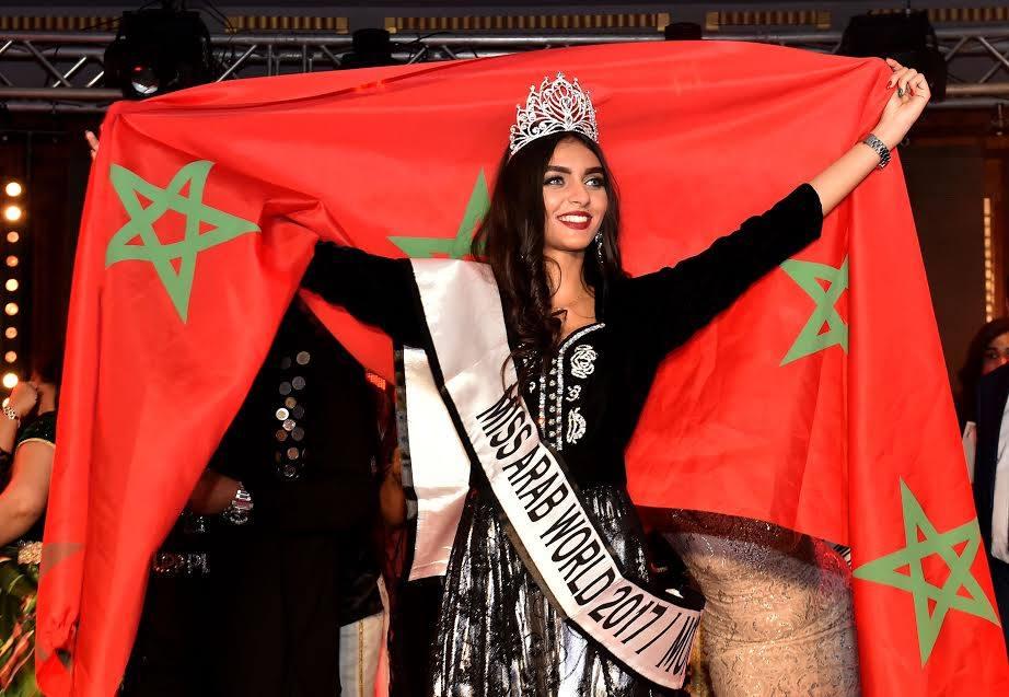البيضاوية شيماء العربي تفوز بلقب ملكة جمال المغرب لسنة 2017 لكم Lakome2