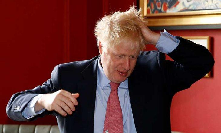 رئيس الوزراء البريطاني بوريس جونسون يصاب بفيروس كورونا