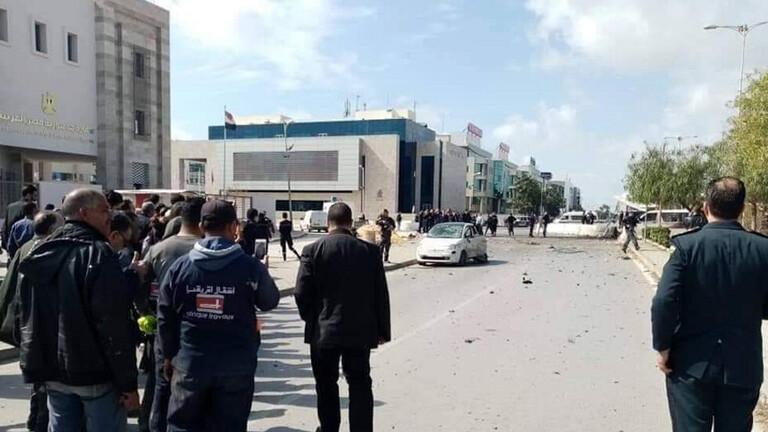 تفجير انتحاري قرب السفارة الأمريكية بتونس